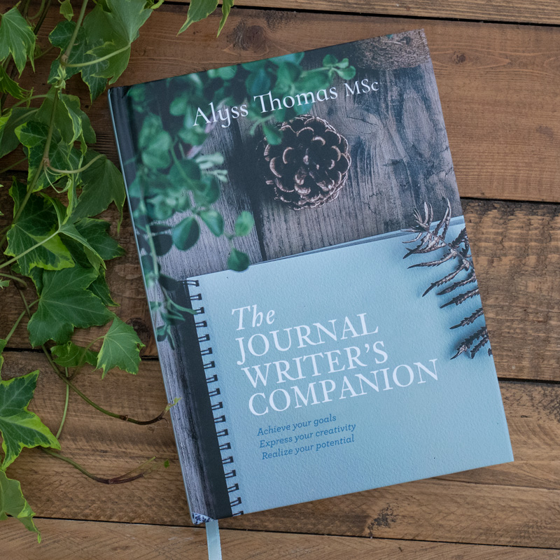 The Journal Writer's Companion by Alyss Thomas Book