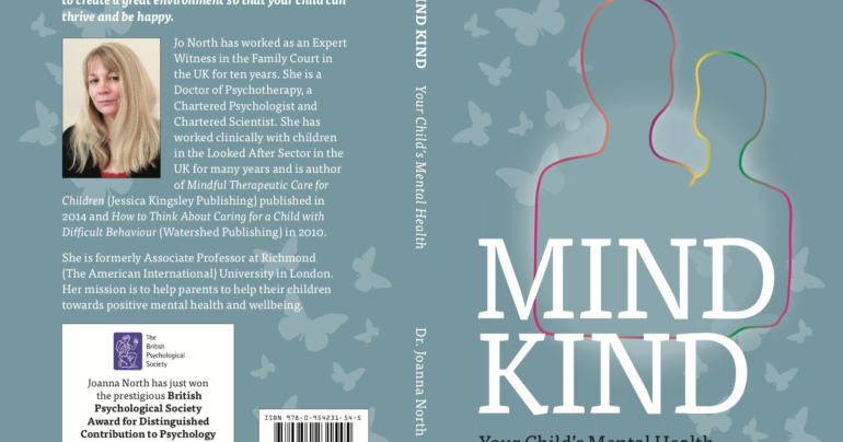 Mind Kind Your Child's Mental Health by Dr Joanna North – A Book Review