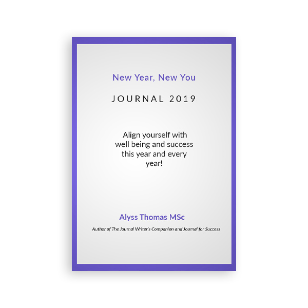 New year, New you Journal