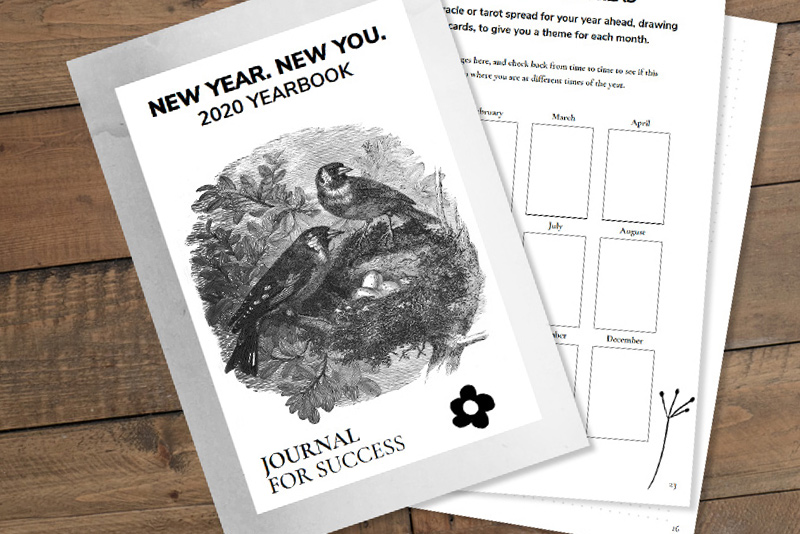 New Year, New You 2020 Journal