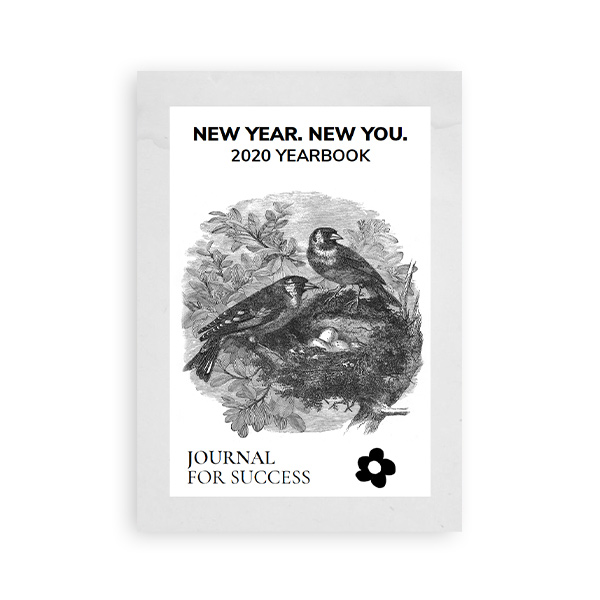 New Year, New You 2020 Journal Yearbook